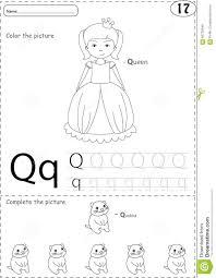 Free Alphabet Tracing Worksheets Cartoon Queen And Quokka Alphabet Tracing Worksheet Writing A