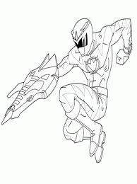 monsters enemy power ranger coloring pages power ranger