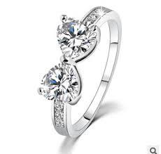2016 fashion jewelry brand designer zircon anel