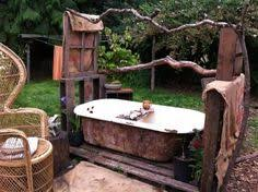outside bathroom ideas outdoor bath at the brewers cottage i wish i knew exactly