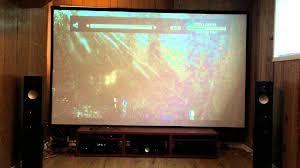 paradigm home theater home theater paradigm monitor 9v7 denon x4100 demo tdkr youtube