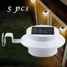 aliexpress buy 5 pcs lot practical solar powered 3 led