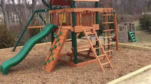 outdoors swingset kits cedar playset gorilla playset