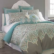 Ideas Aqua Bedding Sets Design Kashmir Duvet Cover Bedding Set Jcpenney The Color Combo
