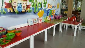 Children S Dining Table Children S Dining Area For Breakfast Buffet Was For The