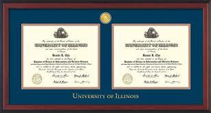 of illinois diploma frame u of illinois diploma frame mah lacquer w illinois seal navy on