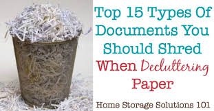 where to shred papers trash versus shred documents which to choose when