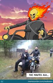 Shots Fired Meme Origin - ghost rider memes best collection of funny ghost rider pictures
