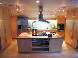 Kitchen Track Lighting Ideas Kitchen Kitchen Track Lighting With Silver Chrome Track And White