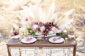 40 boho chic wedding table settings to get inspired weddingomania
