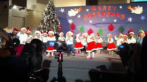 rachael u0027s preschool christmas concert 2010 youtube