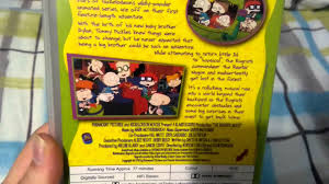 the rugrats movie uk retail vhs release youtube