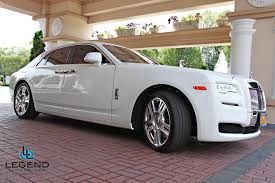 rolls royce white convertible legend limousines inc rolls royce ghost rolls royce rental