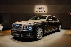 customized bentley 2017 bentley mulsanne pace on the vehicle and convenience on the