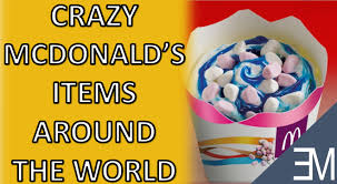 top 10 mcdonalds menu items from around the world