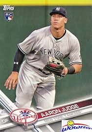 18 Best Aaron Judge Collectibles Images On Pinterest New York - aaron judge 2017 topps new york yankees baseball rookie card in mint