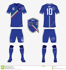 sport t shirt set stock vector image 61881341