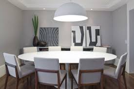 Dining Tables  Mod Dining Table Small Contemporary Tables Round - Oval dining table for 8 dimensions