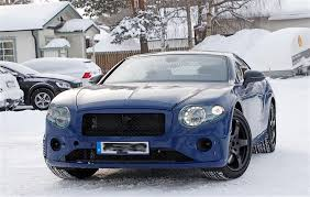 bentley snow next gen bentley continental gt spied with less camouflage than