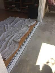 glass door broken sliding glass door repair