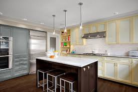 new yorker kitchen cabinets get creative with two tone kitchen cabinets