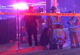 friday night lights huntington beach hundreds attend vigil for las vegas teens killed in california las