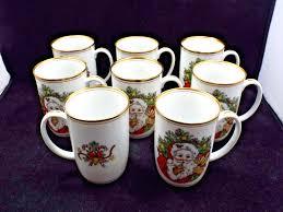 made in america coffee mug fitz floyd mugs set of 2 blue ribbon