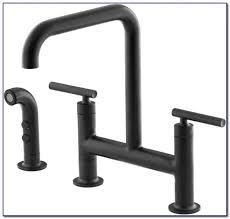 vigo kitchen faucet vigo matte black pull out spray kitchen faucet faucets home vigo