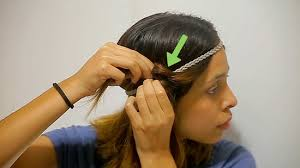 headband waves how to do headband curls 15 steps with pictures wikihow