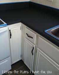 Black Countertop Kitchen by Best 25 Chalkboard Paint Kitchen Ideas Only On Pinterest