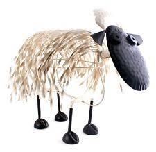 sheep metal garden statues lawn ornaments ebay