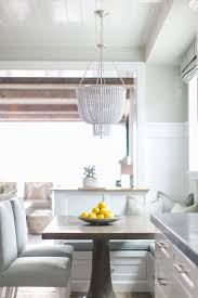 526 best breakfast nooks images on pinterest kitchen nook breakfast nook with beaded chandelier banquette benchbeaded