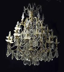 Crystal Chandelier Venetian Rock Crystal Chandelier The World Of Design
