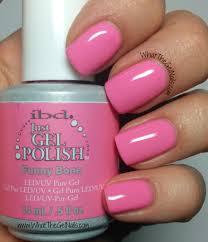ibd funny bone plus more pink ibd gel nail polish colors ibd