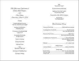 diy wedding program do it yourself wedding program cards