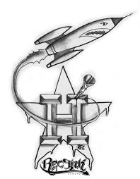 rec go rockets h town tattoo by txrec on deviantart