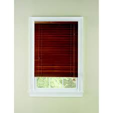 shop levolor 2 in oak room darkening horizontal blinds common 30