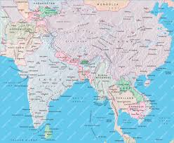 India Maps by Central Asia India Map Illustrator Mountain High Maps Plus