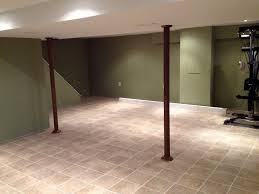 awesome idea ceramic tile basement floor top options for flooring