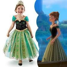 disney frozen princess dress skirt costume