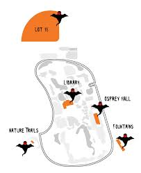 Map Of Unf Encounters With The Supernatural At Unf U2013 Unf Spinnaker
