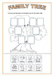 family tree worksheet by sheila lima