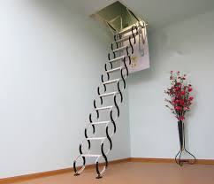 heavy duty attic pulldown stairs best attic stairs be installed