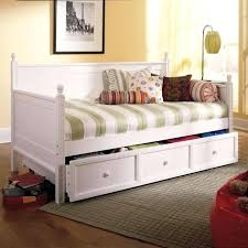 white double daybed double bed daybed frame day bed in white 2