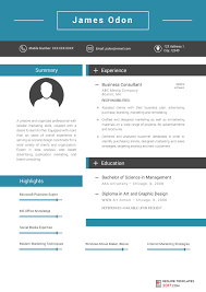 The Best Resume Sample by Marketing Resume Template Can Help You To Be Hired To The Best