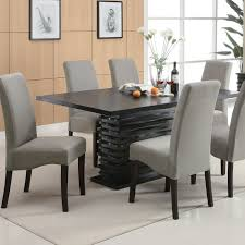 modern dining room sets stanton contemporary dining table redefine your dining room with