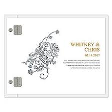 personalized wedding guestbook wedding guest books the knot shop