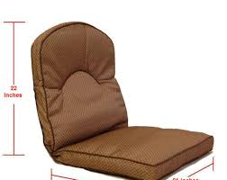 Patio Cushion Furniture Stunning 4 Pack Home Office Kitchen Patio Chair Seat