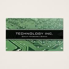 information technology it services business card zazzle