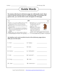 Meaning Words Worksheets Dictionary Skills Freebie The Correct Definition